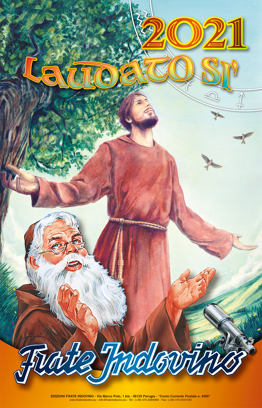 Natale 2021 Calendario.Frate Indovino