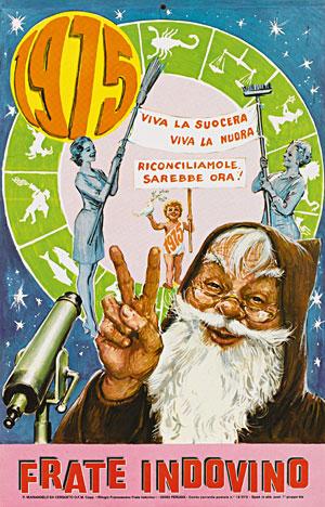 Calendario Frate Indovino.Correva L Anno 1975 Viva La Suocera Viva La Nuora