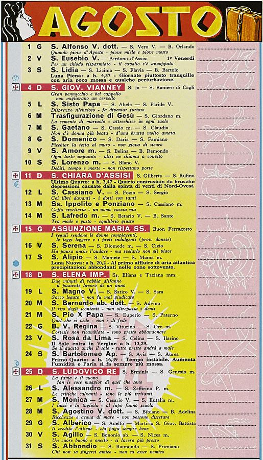 Calendario Anno 1974.Correva L Anno 1974 Cappuccetto Rosso Nel Mondo Di Oggi