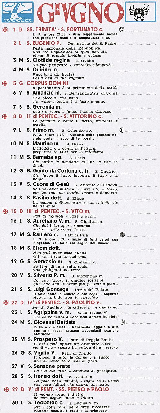 Calendario 1958.Correva L Anno 1958 Marcellino In Cielo