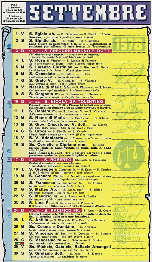 Calendario Lunare 1978.Correva L Anno 1978 Saggezza Antica Realta Moderna